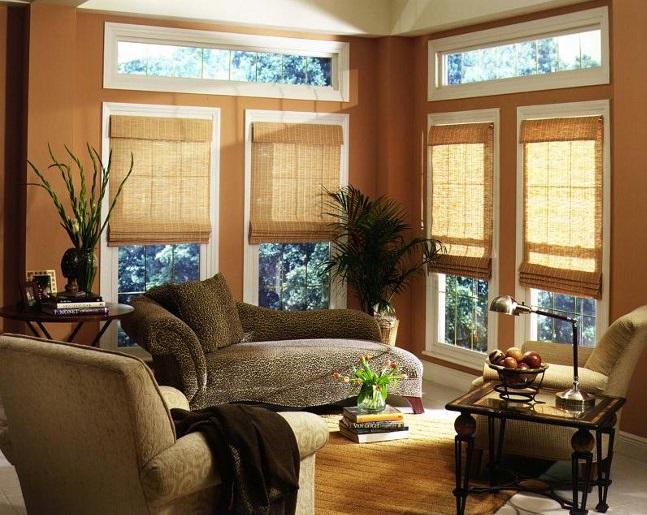 Бамбуковые шторы у нас