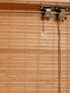 Механизм бамбуковых штор