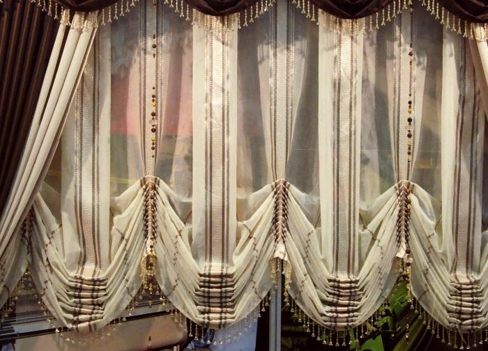 Прекрасные австрийские шторы