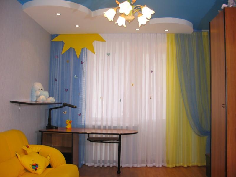 Дизайн штор для подростков